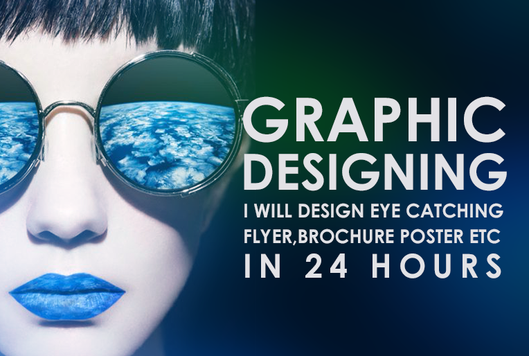 create FLYER and Any graphic work within 12hrs