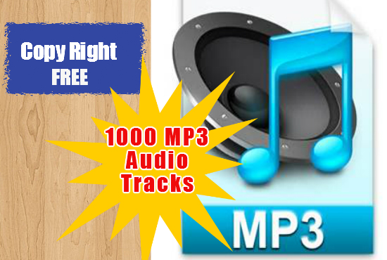give you my private collection of 1000 MP3 audio tracks