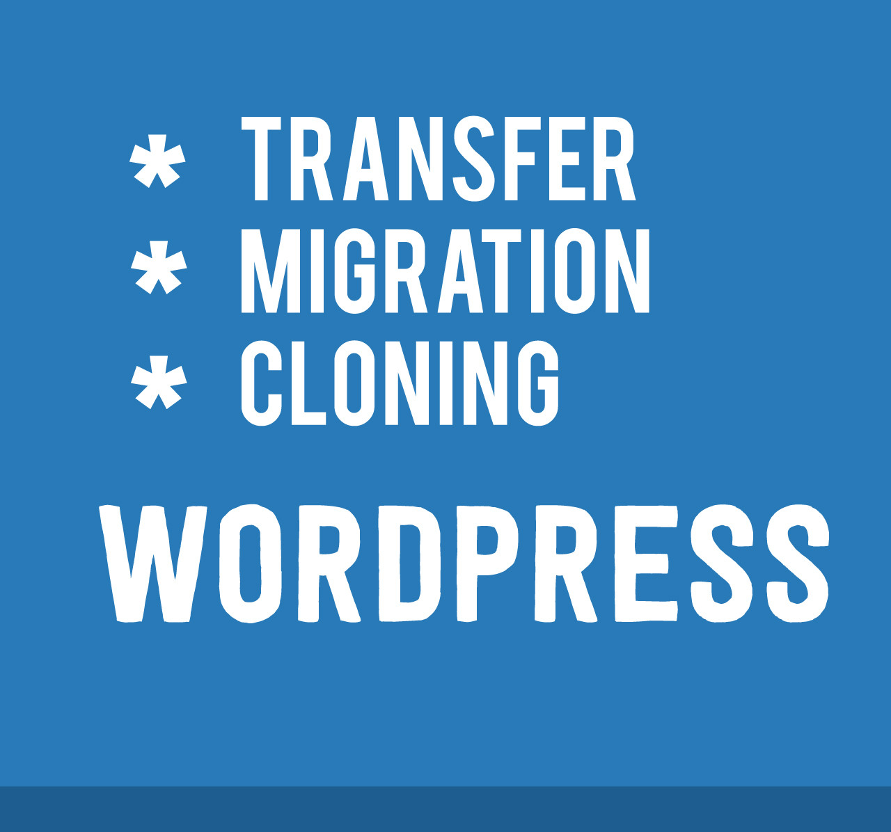 transfer your website old to new one