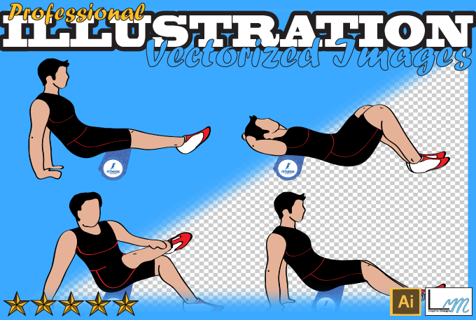 Create quality vector illustrations and drawings