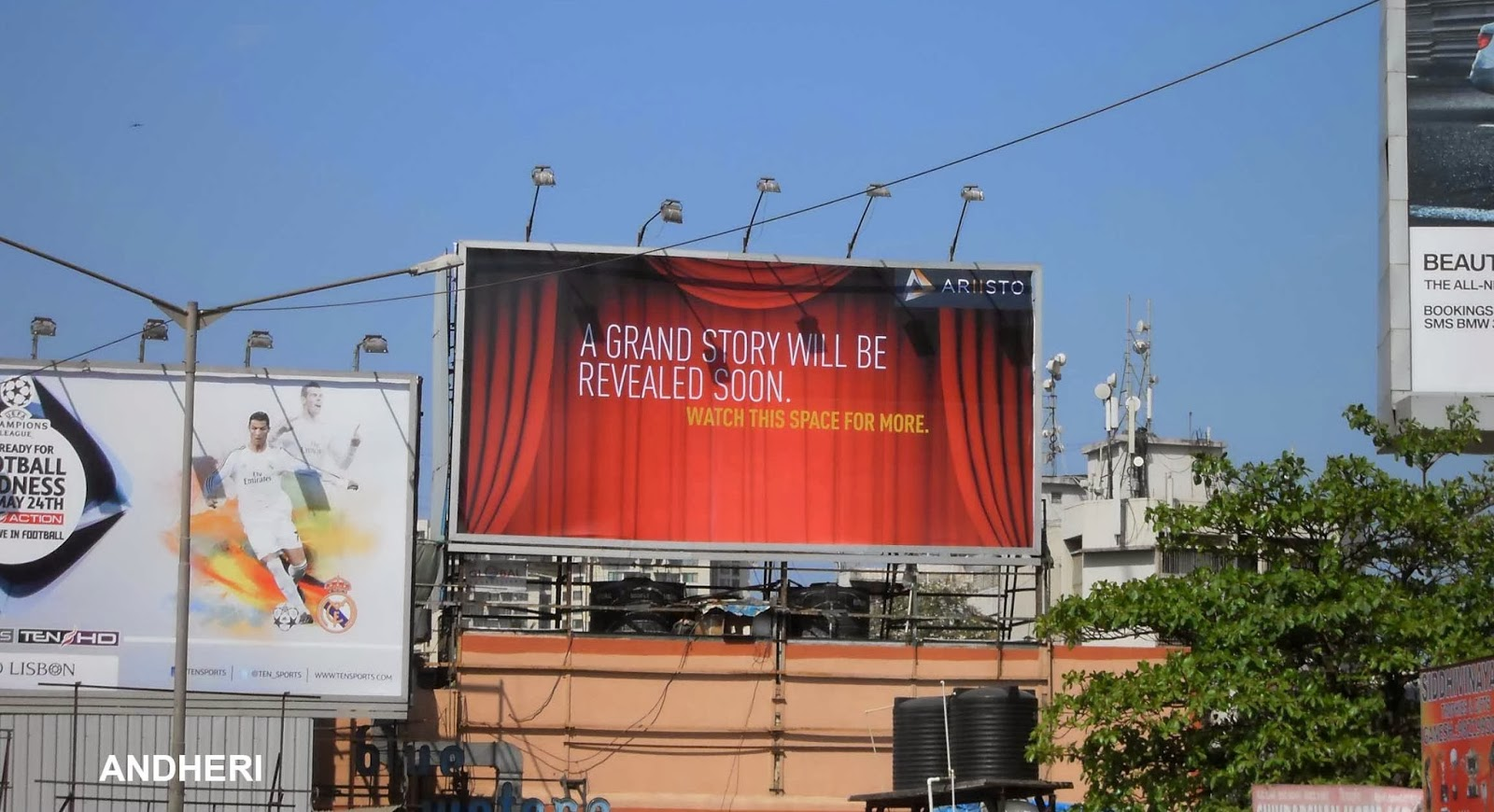 put your logo ,photo 300 luxuary billboards at famous places