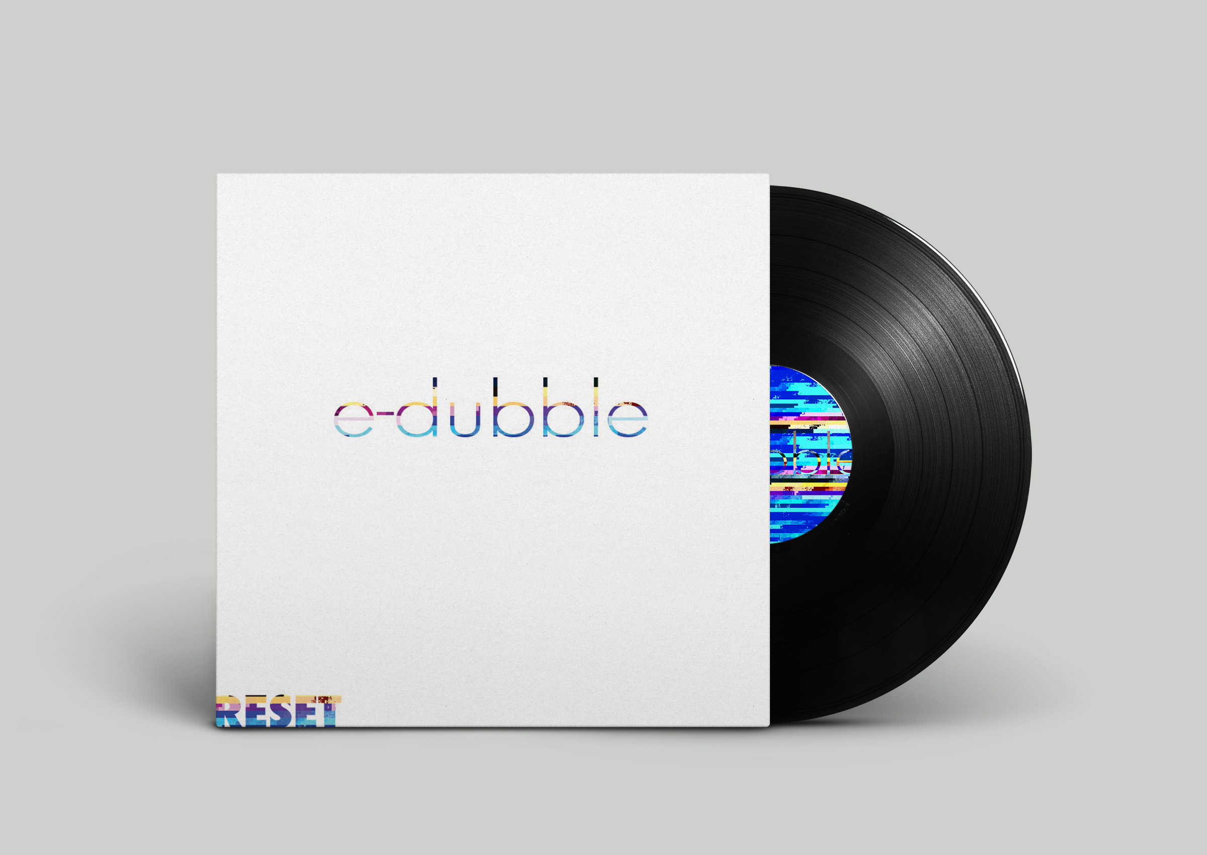 make a glitch album or poster and mock it up for you