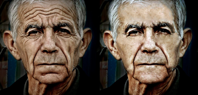 face retouch, adjust and correct your images