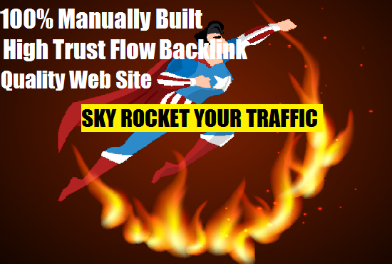 do 7 MANUAL High Trust  Backlinks ,Health N Fitness Targeted
