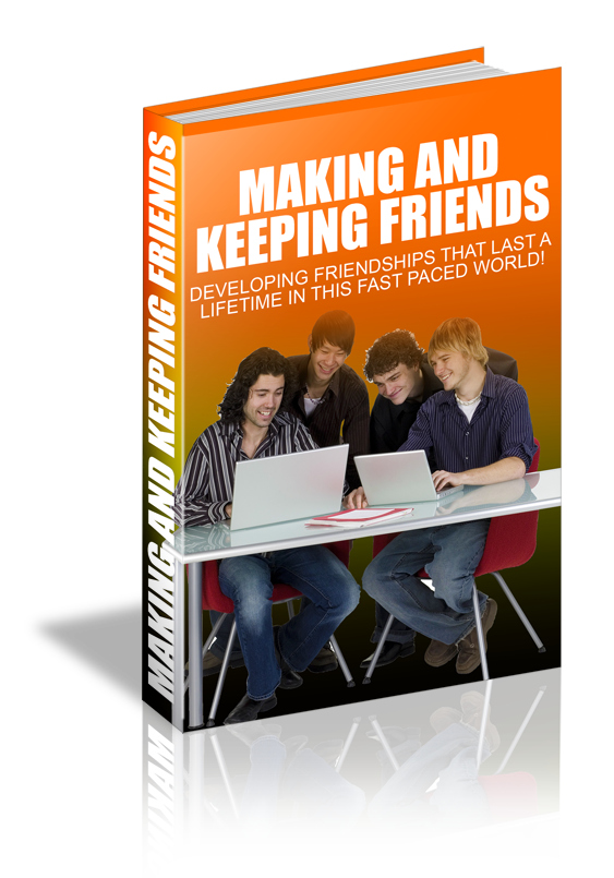 """give you how """"Making And Keeping Friends"""" in a book"""