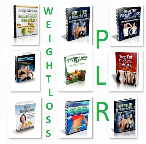 give you 26 PLR Weight Loss Ebooks