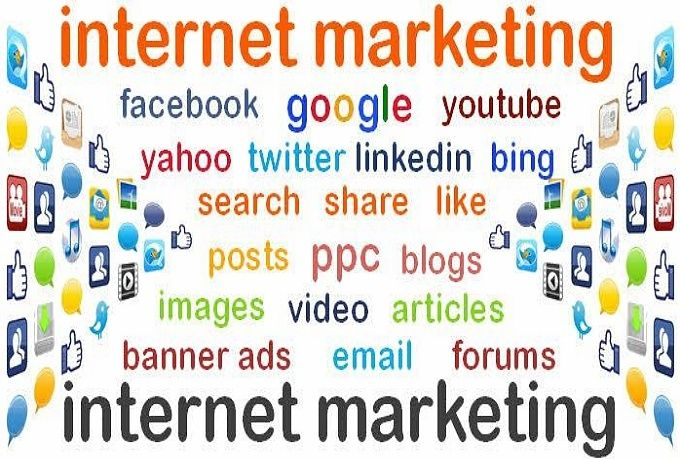 market your website link all over the web!!