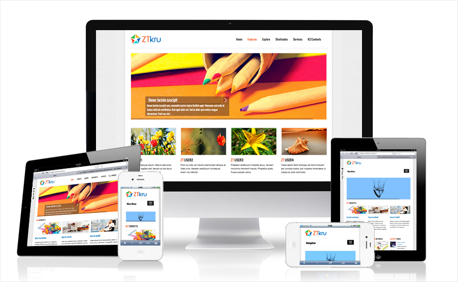Will build and design a responsive website for your company