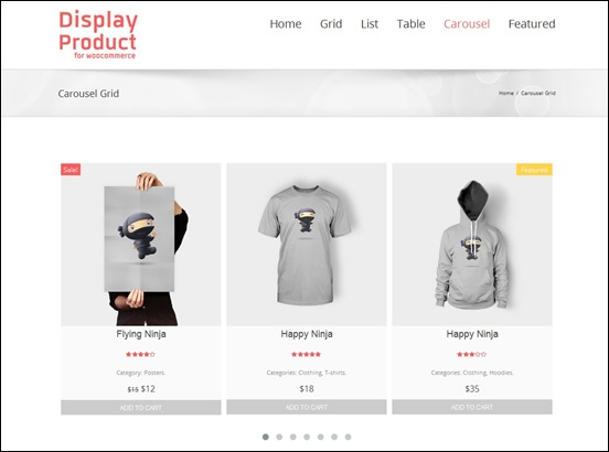 upload products on your web store