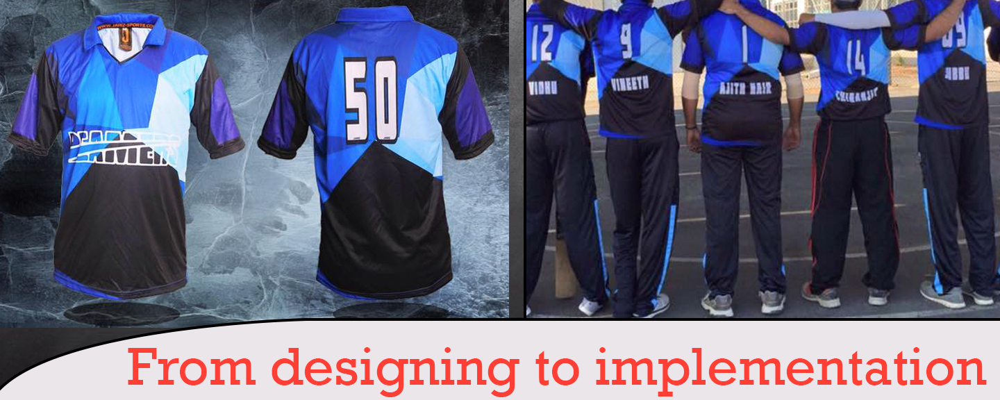Create Your Own Cricket Team T-Shirts