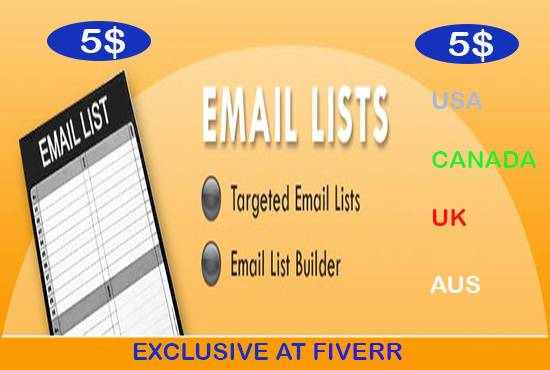 collect TarGeted EMAIL for YouR business Leads