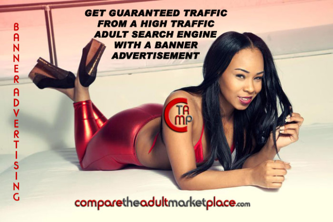 post your banner on high traffic adult search site