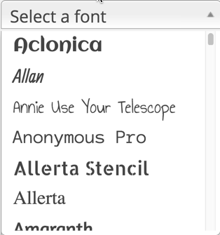 Use any font in WordPress website