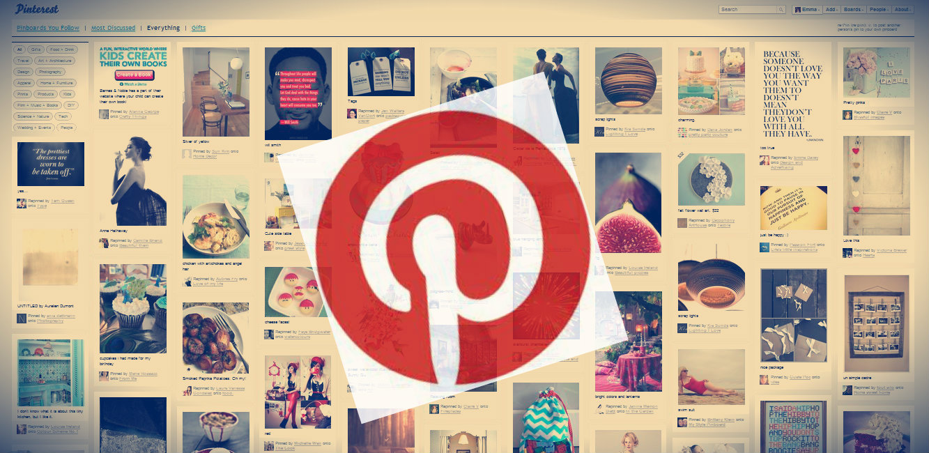 Show Pinterest in your website