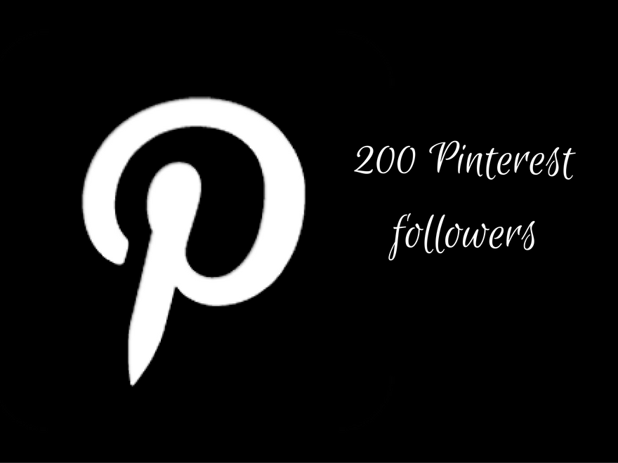 provide 200 Pinterest followers
