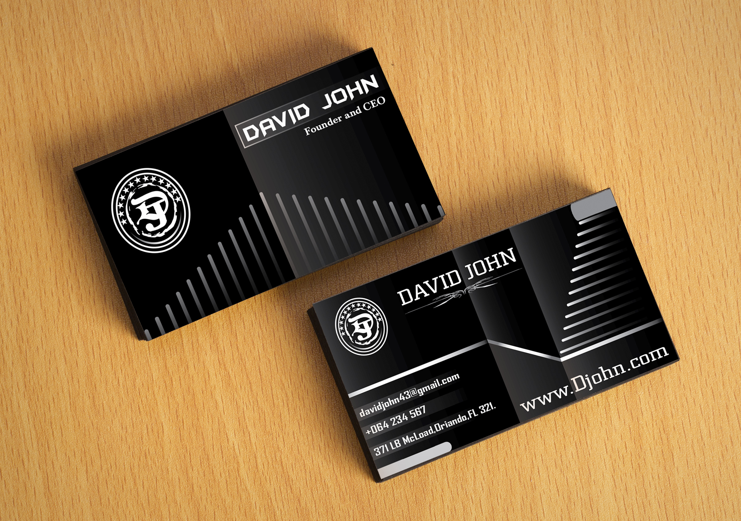 design amazing PROFESSIONAL Business cards