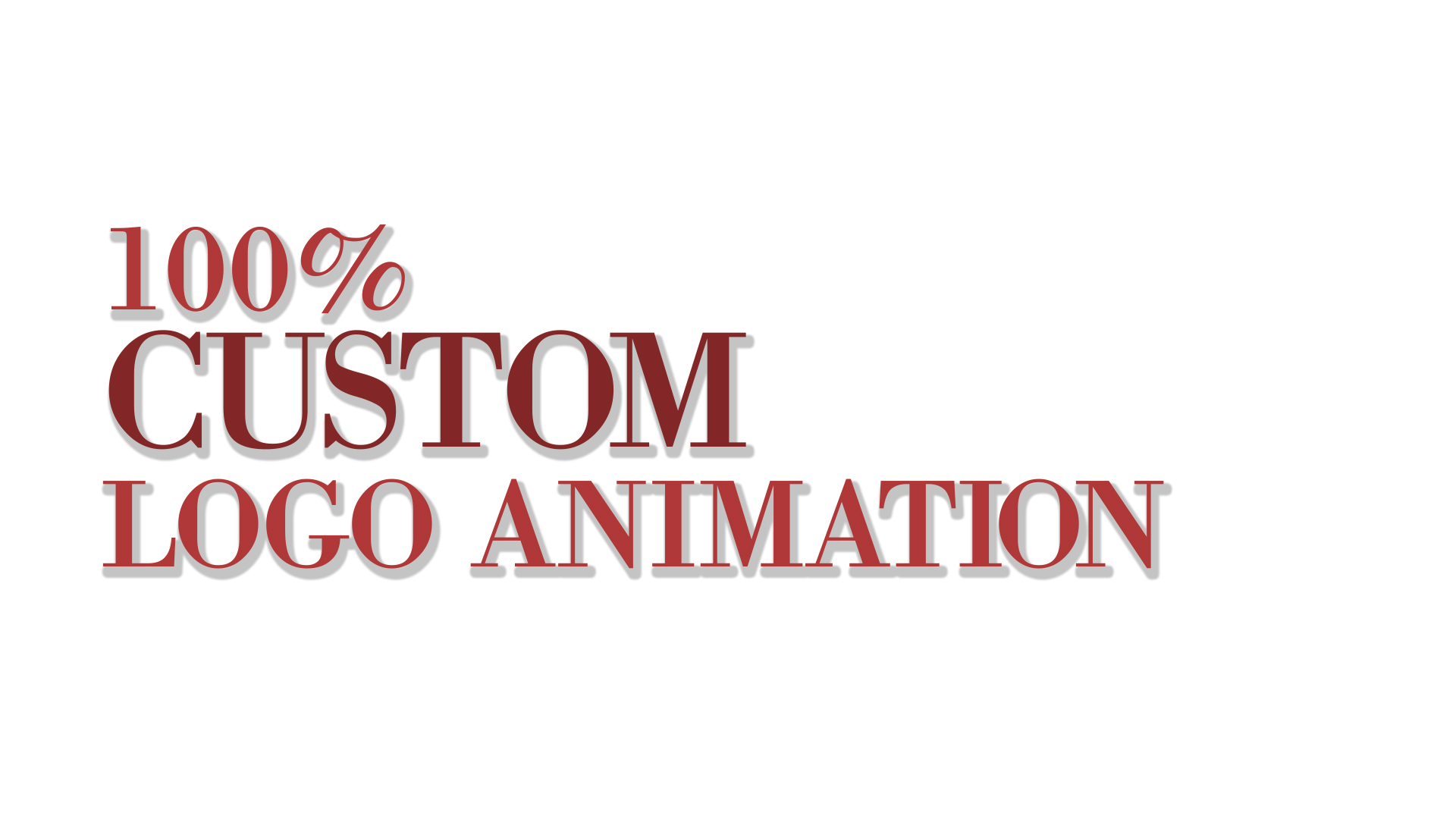create a custom logo animation