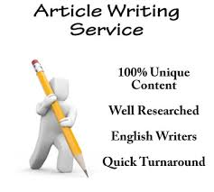 Write an artilce of any topic