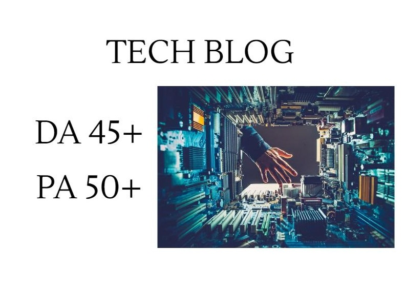Do guest post in DA45 Technology blog