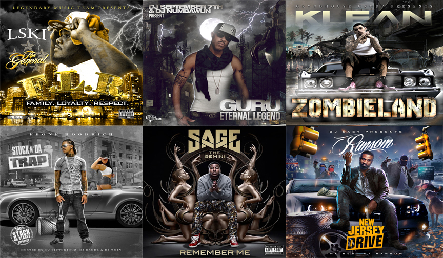 design professional  mixtape or album covers