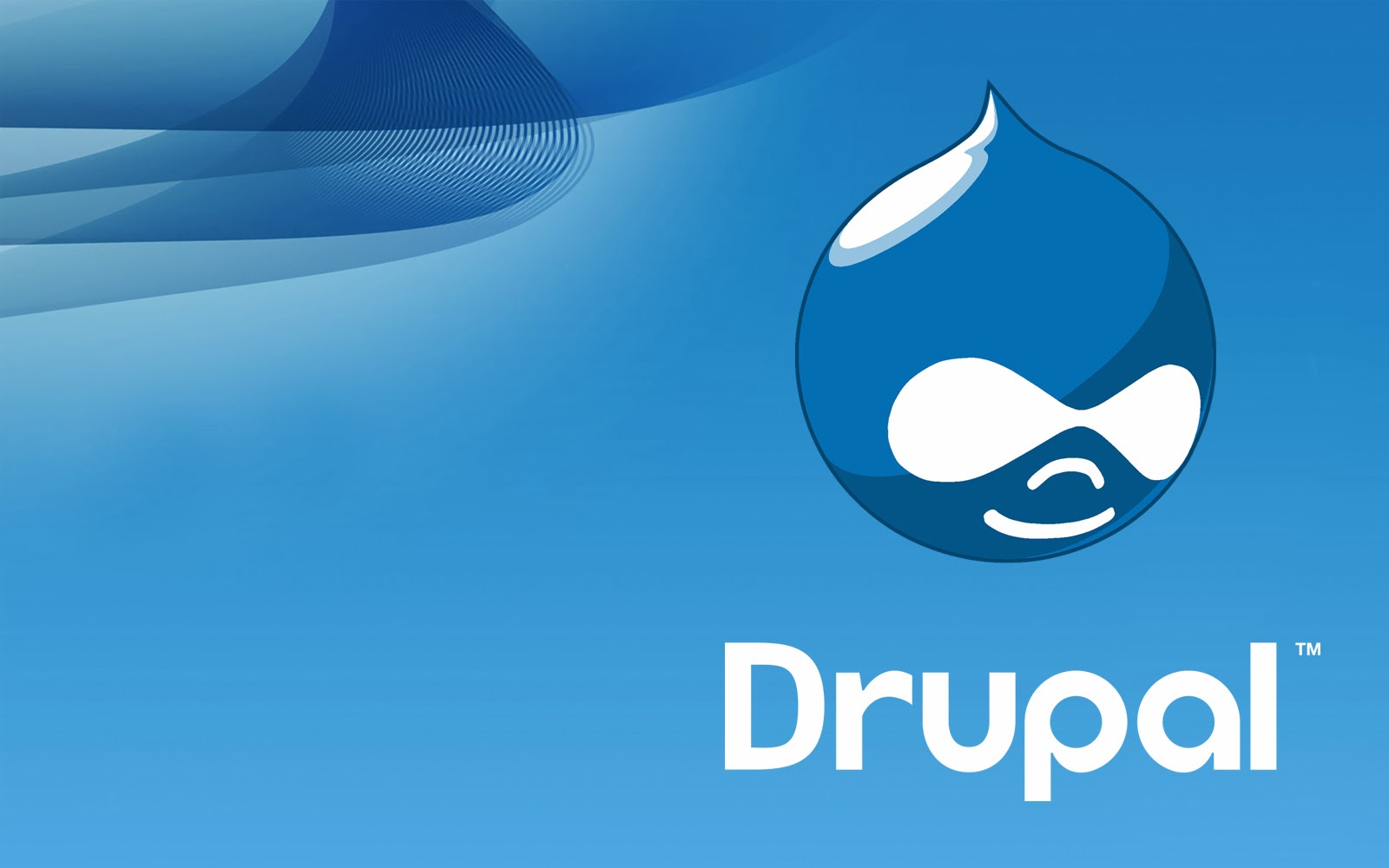 make drupal from a template
