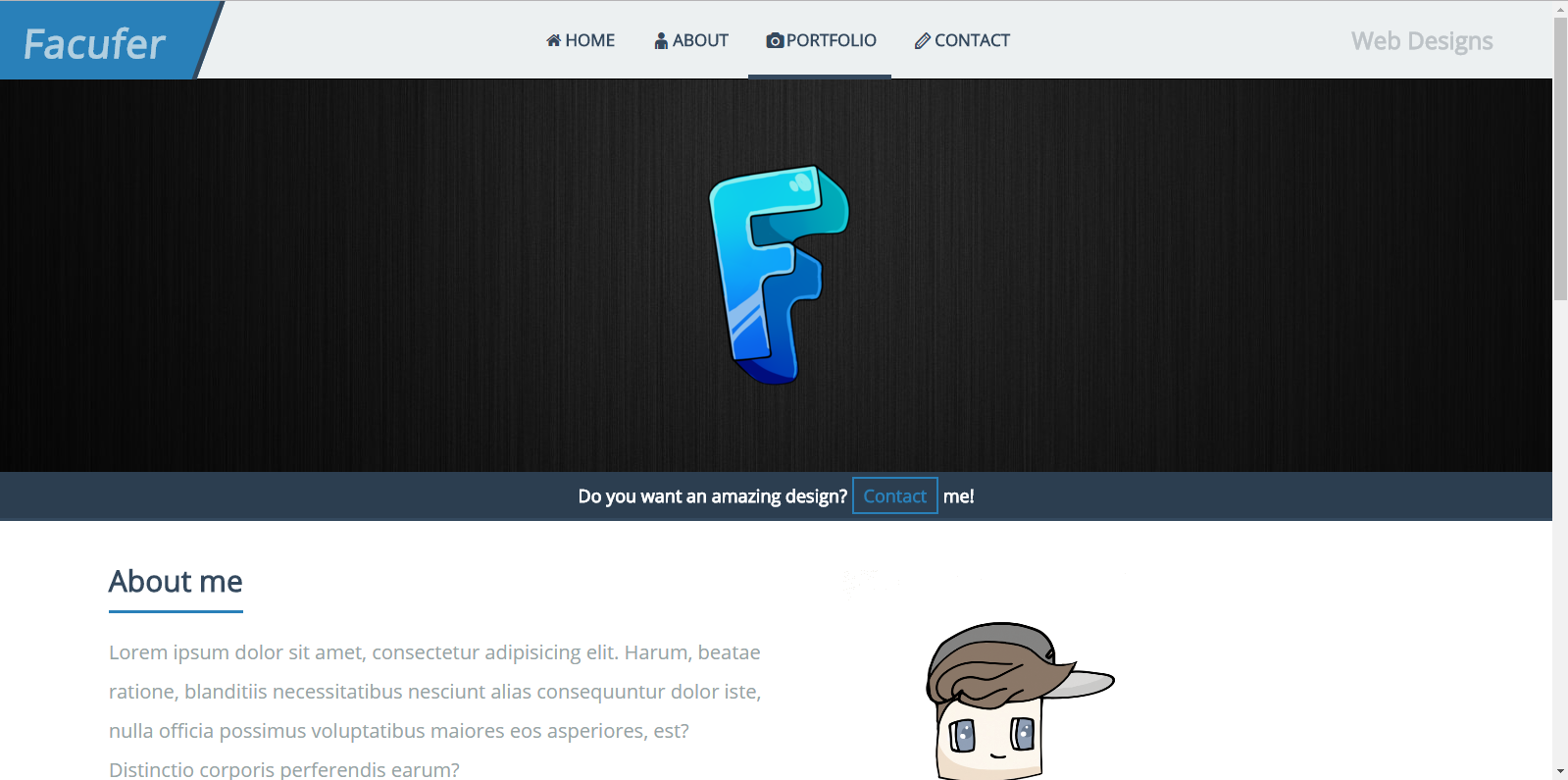develop a proffesional full responsive website
