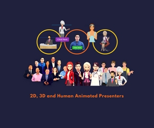 create a STUNNING Animated Video Spokesperson for Website or Blog