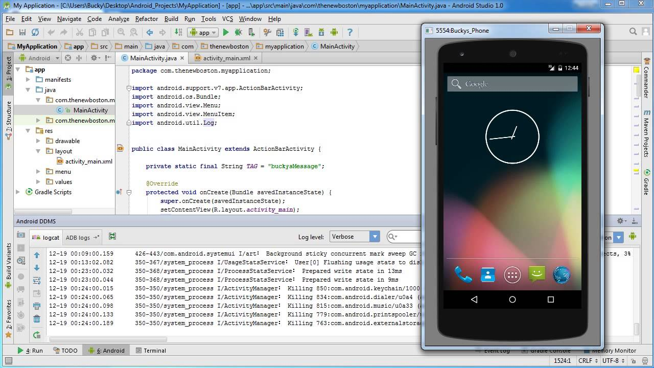 build an android app