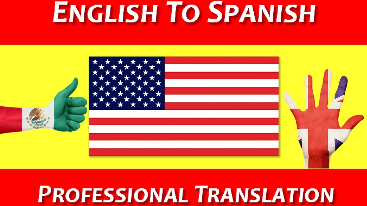 translate from English to Spanish and viceversa