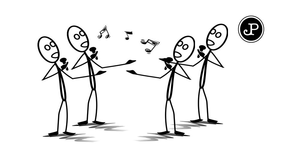 create a male voice acappella version of a song