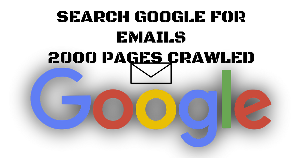 Scrape Google For Email Leads