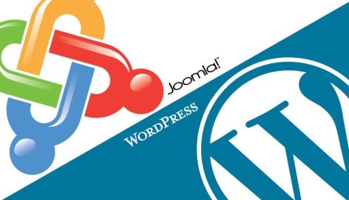 build a Joomla or Wordpress website