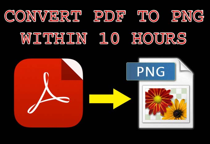Do 1 Hour Convert Pdf To PNG