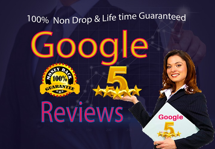 write Permanent 5 google reviews for your business