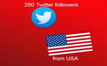 send you 200 Twitter followers from United States