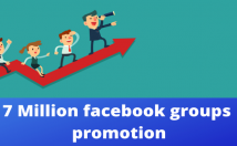 share reach in 7 million facebook audience