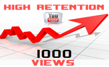 Provide 1,000 Organic Watchtime Views