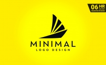 design 3 modern minimalist logos and business card with unlimited revision