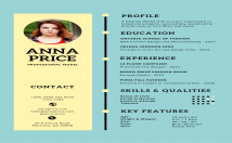 write an infographic resume and cover letter