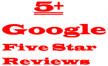 5+ Google Five Star Lifetime Guaranteed Verified Customer Reviews Active Users