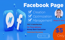 create facebook business page and optimize it fully professionally