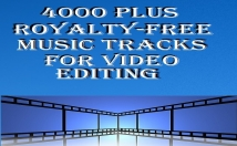 give 4000 plus royalty free music audio tracks for your video