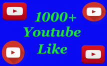 give you 1000+ You Tube likes