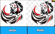 vectorize logo, redraw and do vector tracing