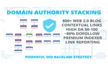 provide Domain authority stacking – increase trust, DA, and ranking